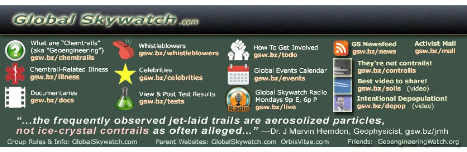 Chemtrails Global Skywatch Cover Image