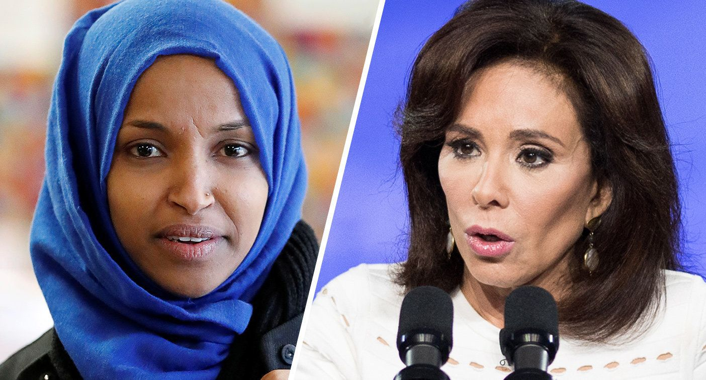 Omar thanks Fox News for denouncing Pirro's comments