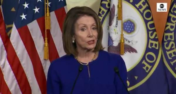 """Pelosi Says House Dems Launching Investigations Into Trump Without Evidence of a Crime is Their """"Constitutional Responsibility"""" (VIDEO)"""
