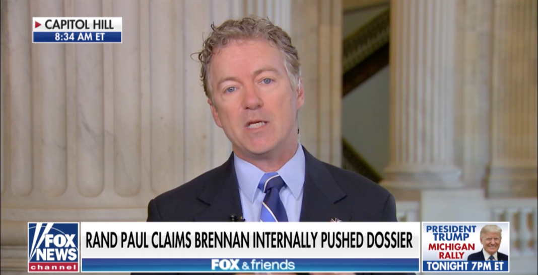 BREAKING: Rand Paul To Introduce BIG-LEAGUE Amendment to Mueller Report