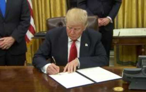 PRESIDENT TRUMP SIGNS EXECUTIVE ORDER  LABELS IMPROVING NATIONS POWERGRID !