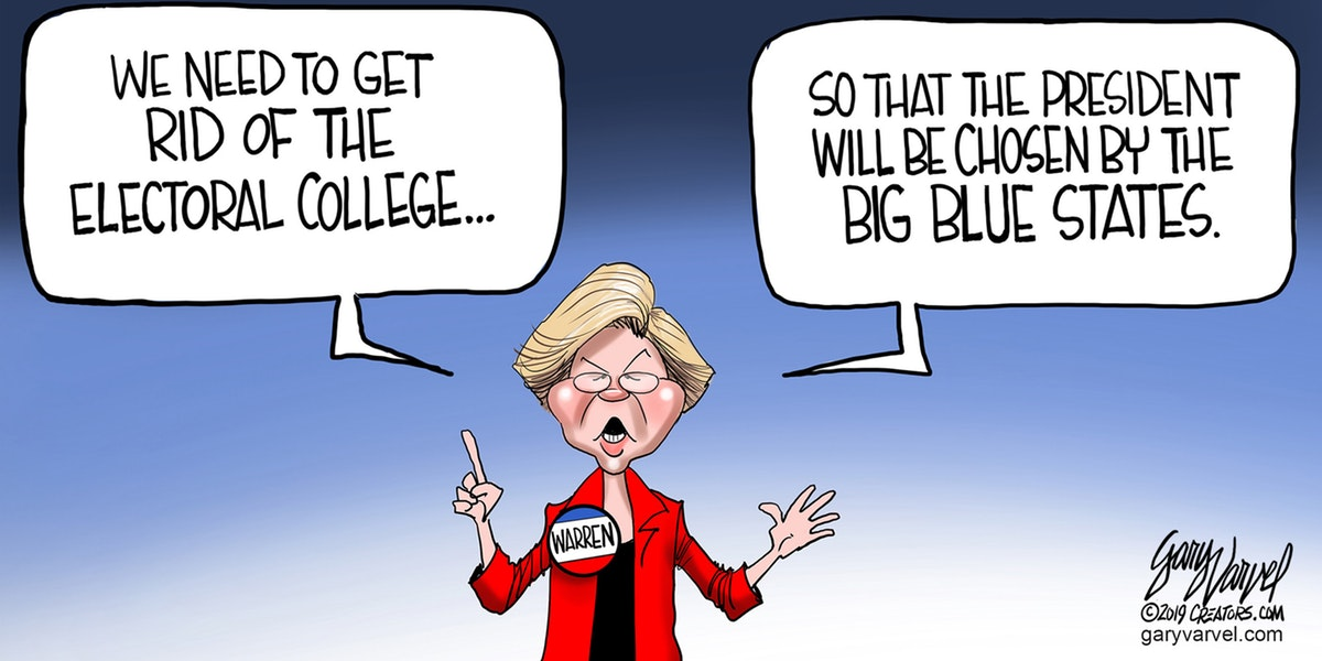 Michael Swartz: Another Front in the War on the Electoral College — The Patriot Post