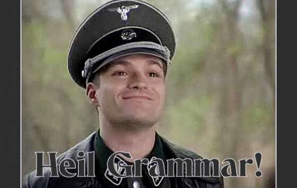 """To the Opponents of """"Grammar Nazis"""""""