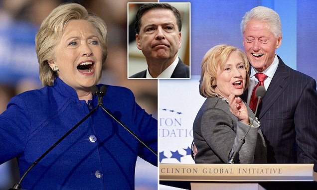 FBI Clinton Foundation probe finds 'avalanche' of corruption evidence | Daily Mail Online
