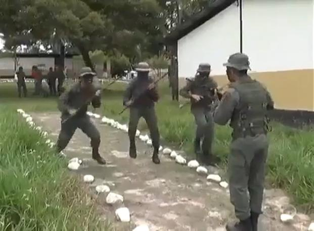Venezuelan Army Attempts to Scare US Marines with Video   Military.com