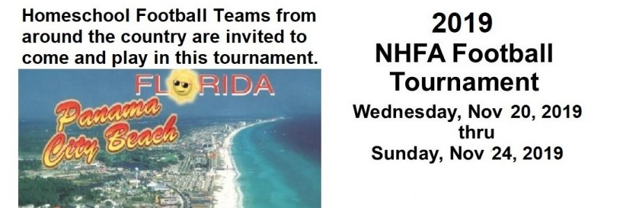 NHFA Homeschool Football Tourney Cover Image