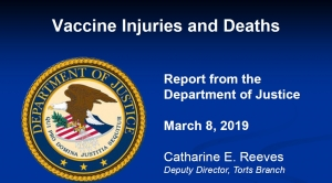 2019 DOJ Report on Vaccine Court Reveals Vaccines Continue to Injure and Kill People: $110 MILLION in Damages Paid Out First Quarter