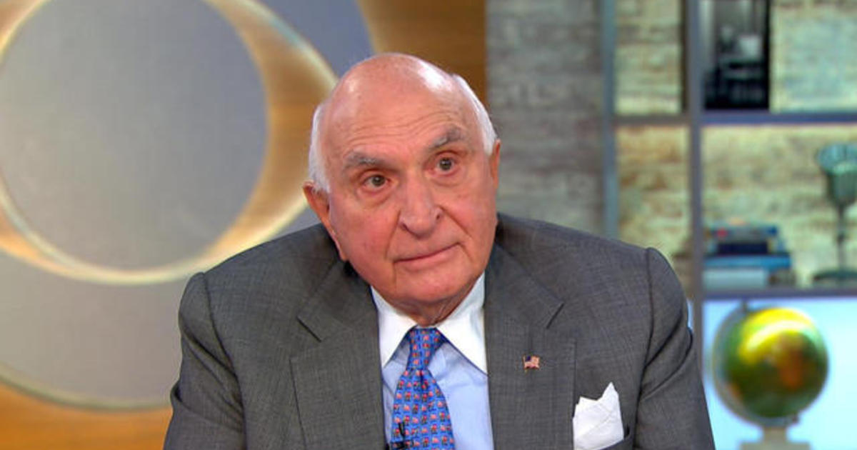 Ken Langone, Home Depot co-founder, on why capitalism works - CBS News