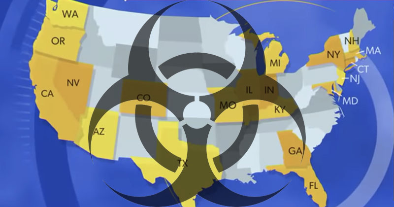 Emergency! Terrorists Hit 21 States With Lethal Biological Weapons
