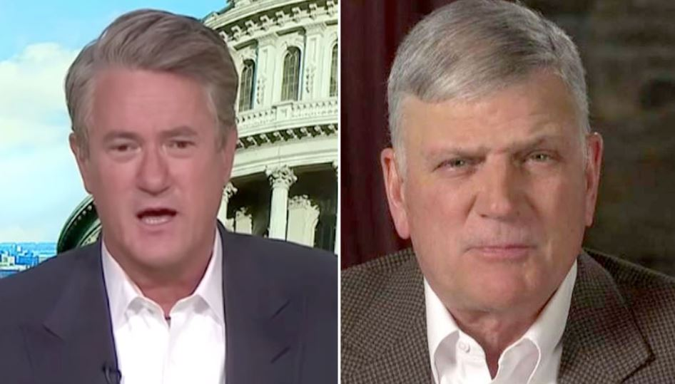 Scarborough Explodes on Air, Tells Renowned Rev. Franklin Graham to 'Shut Up', Calls Him a 'Disgrace' - Young Conservatives