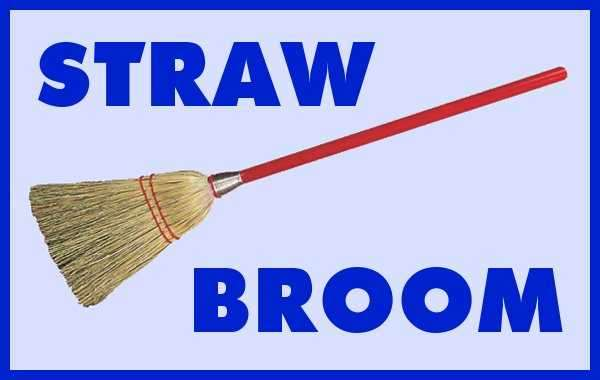 Straw Broom
