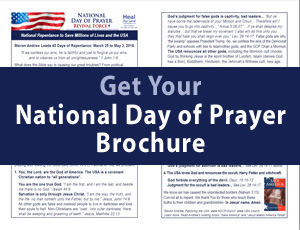 To Drain the Swamp and Secure the Borders, Pray this Prayer of National Repentance.