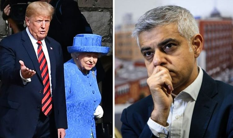 Sadiq Khan SNUBBED by the Queen - London Mayor NOT INVITED to Trump state banquet | UK | News | Express.co.uk