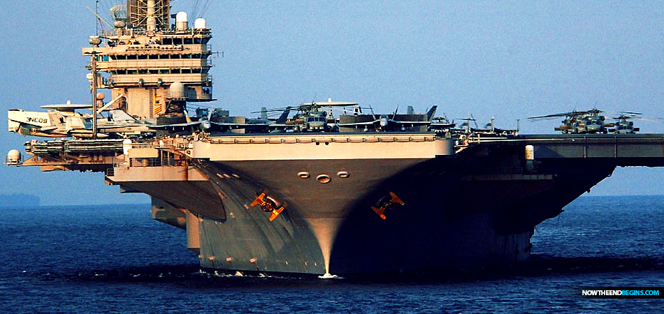 United States Deploys USS Abraham Lincoln With Bomber Strike Force To Middle East After Hearing Iran Planned Attack On US Forces In Region • Now The End Begins