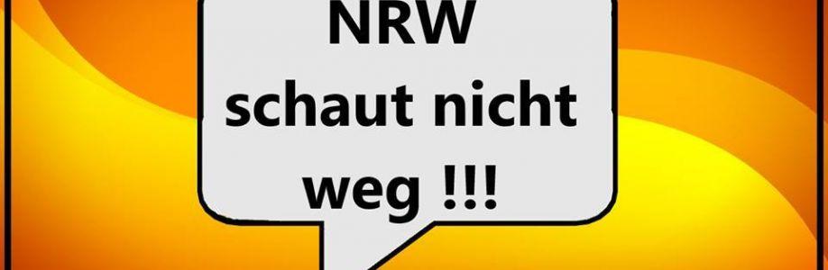 NRW schaut nicht weg Cover Image