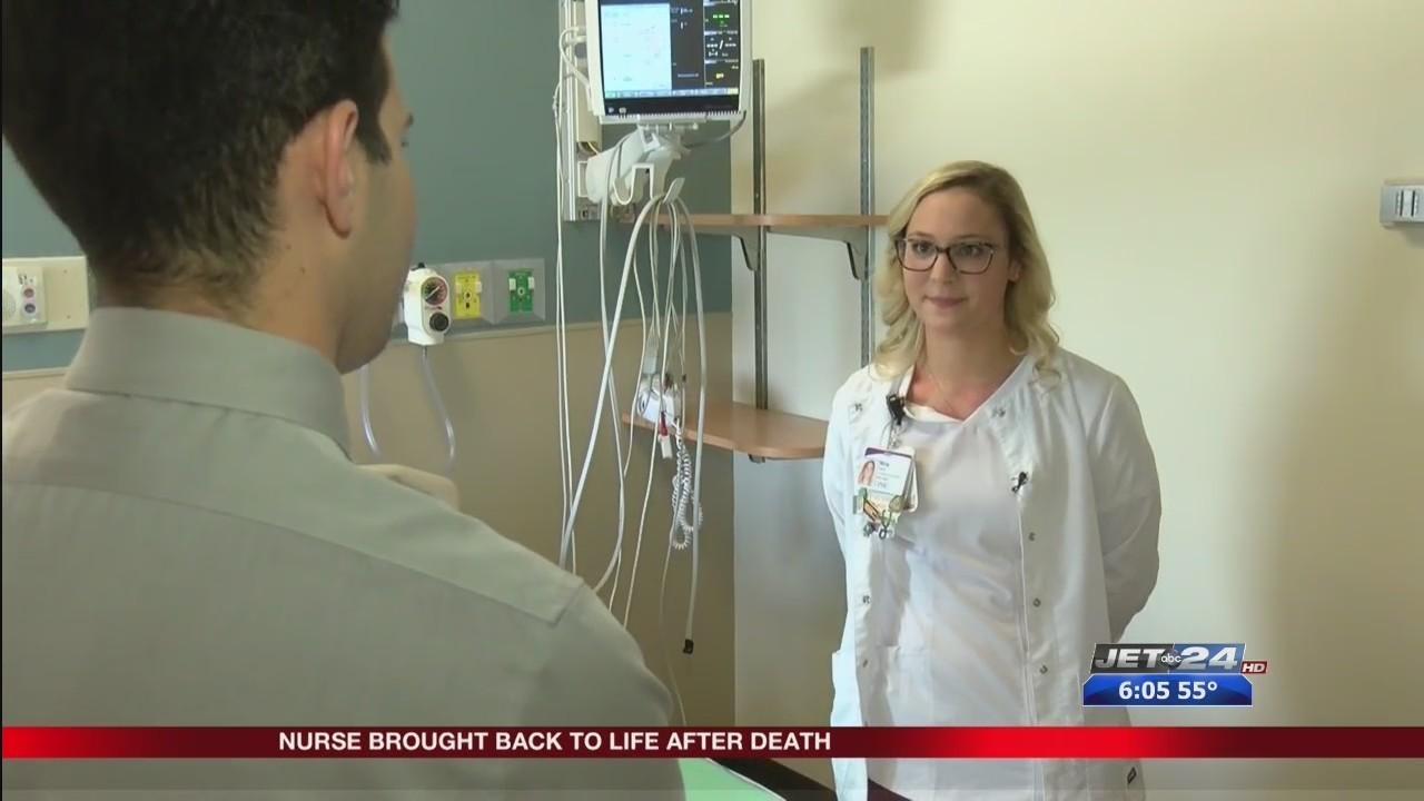 UPMC nurse Nina Fatica shares her near-death experience during National Nurses Week