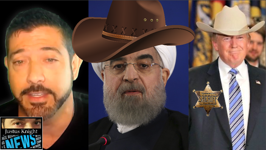Could Trump & Iran's 'Western Showdown' Result In Another Draft?!? Admiral Projects 1 Million Troops Needed! – Justus Knight News