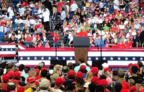 """AMEN! Trump's Spiritual Advisor Opens Rally with Prayer: """"A Demonic Network Has Been United Against Trump"""" Let It be Broken in the Name of Jesus"""
