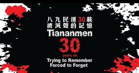 Hania's Blog: Zbrodnia Tiananmen. Chiny 30 lat później