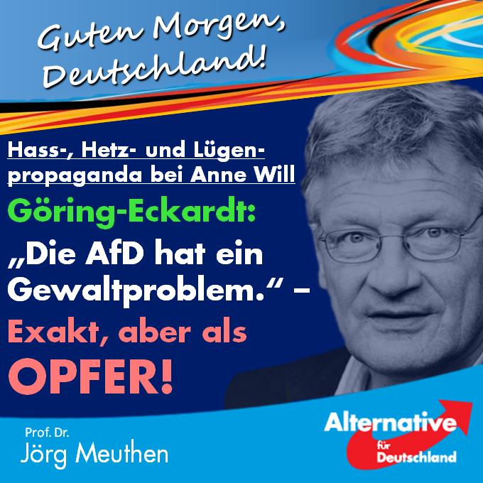 Liebe Leser, was sich gestern bei Anne... - Prof. Dr. Jörg Meuthen   Facebook