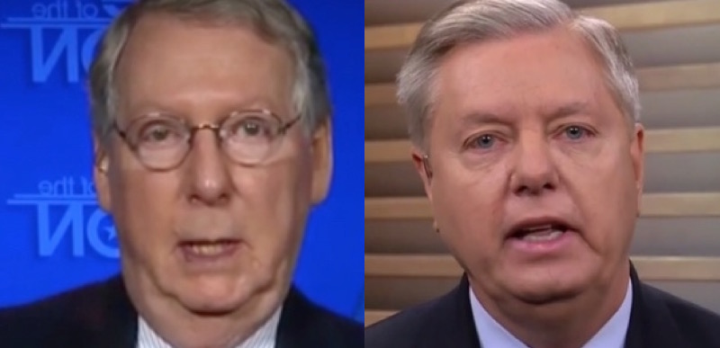 RINOs: McConnell Floats DREAMer Bill While Graham Drafts Legislation To Benefit Illegal Alien Invaders - The Washington Standard