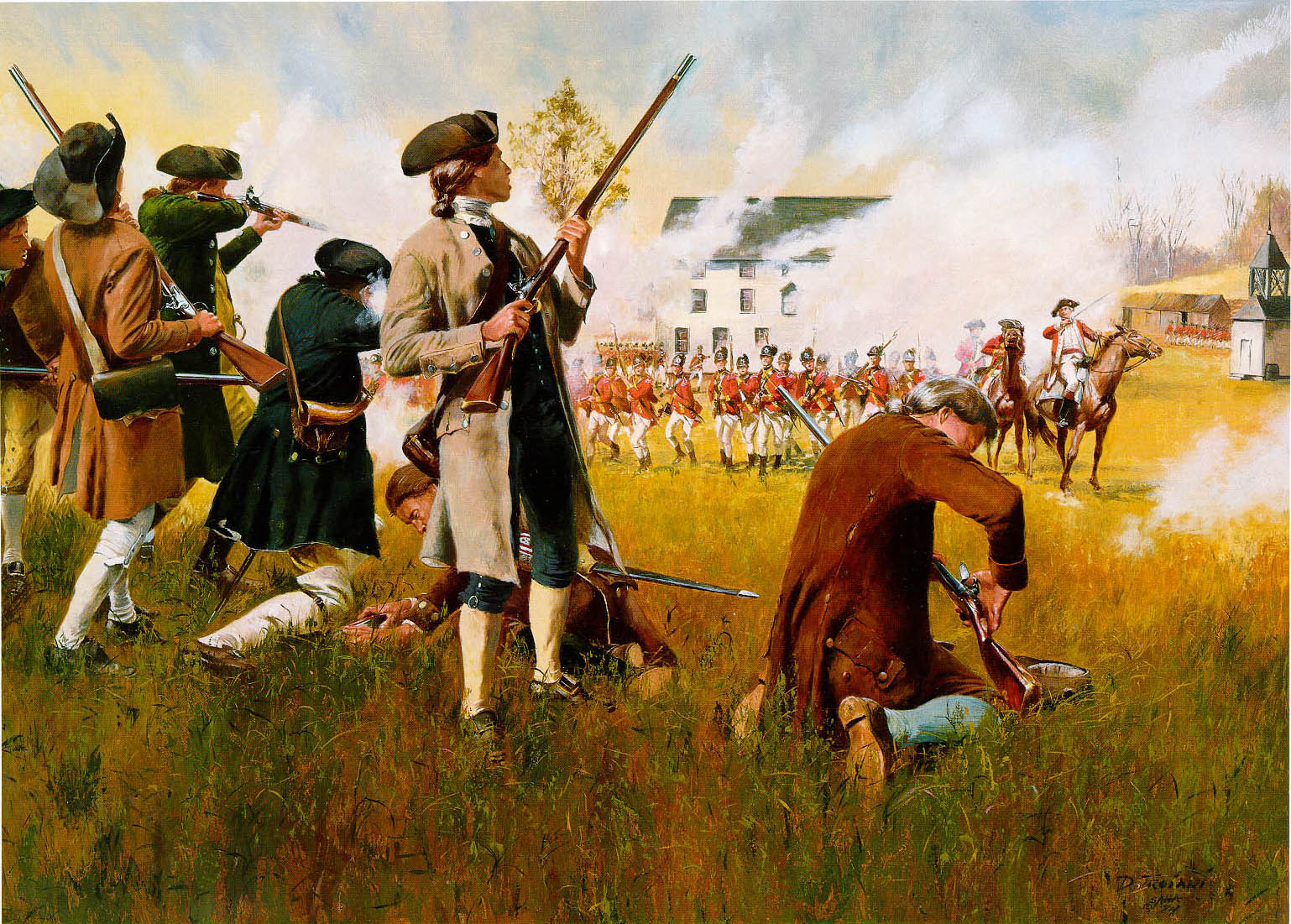 Setting Brushfires 06-10-2019: What Happened When The British Came To Take Our Founders' Arms? - Setting Brushfires
