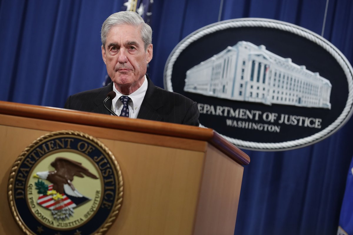 Mueller Announces He Really Is an Enemy of the People - Deep State Journal