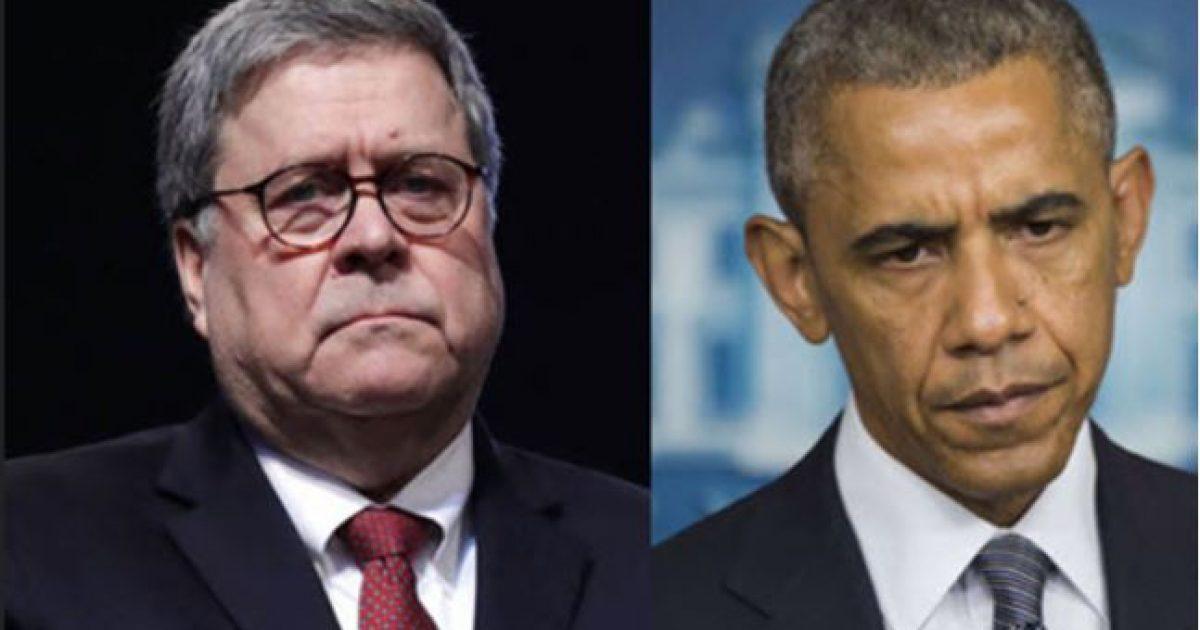 Congressman: AG Barr Preparing to Execute Justice On Obama Era Criminal Activity