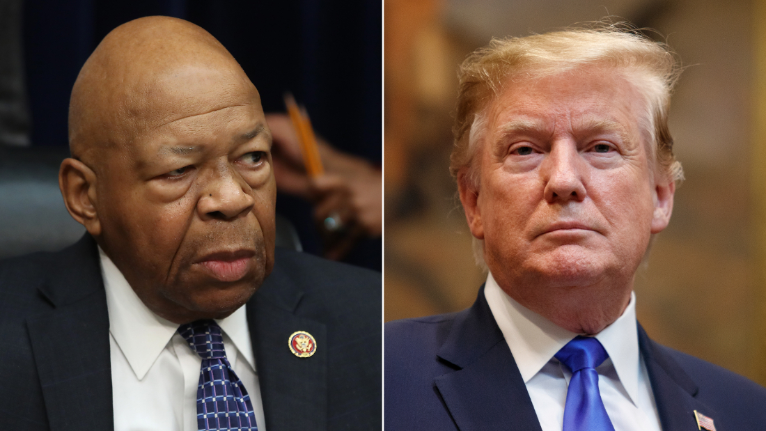 Elijah Cummings: Trump blasts Baltimore-based district as 'disgusting,' 'rodent infested mess' - CNNPolitics
