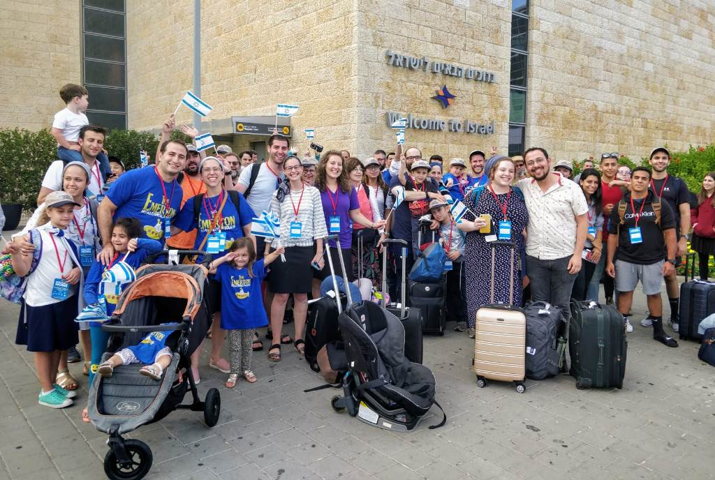 'Israel is My Home': 100 Olim from North America Arrive in Israel | God TV