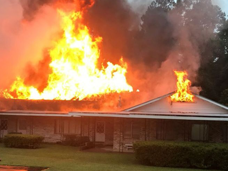 Florida Church Is A 'Complete Loss' After Engulfed Flames | God TV