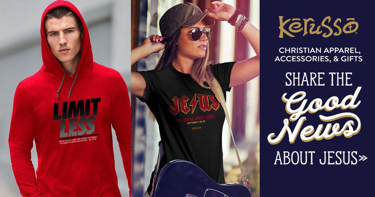 Christian T-shirts | Christian Gifts | Christian Store – Kerusso.com