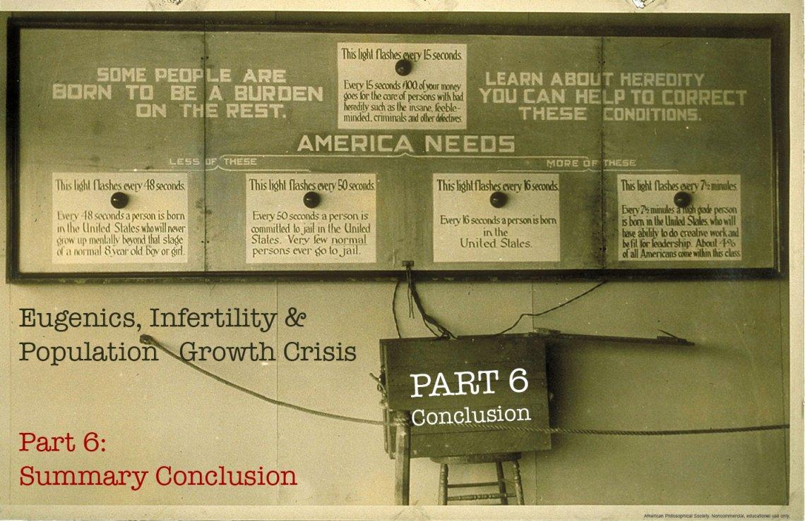 Eugenics, Infertility & Population Growth CRISIS Part 6 - The Washington Standard