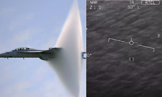 How fighter jets could track UFOs | Daily Mail Online