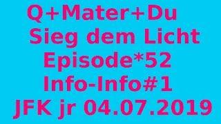 Episode *52: JFK jr und Info-Info