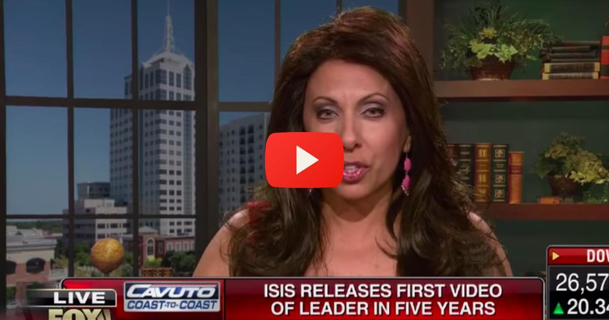 Brigitte Gabriel shares something frightening about terrorism on the internet