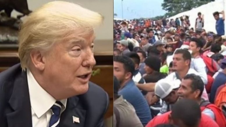 Trump Delivers Devastating Message To Migrants, If You Don't Like Our Detention Centers Stay Home - Liberty One News