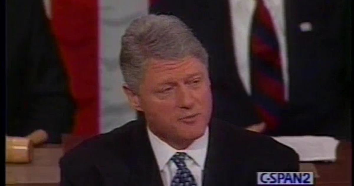 Clinton, 1995, immigration, SOTU   C-SPAN.org