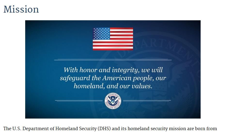 The Humanitarian Hoax of Department of Homeland Security's Security: Killing America With Kindness - Hoax 40 - The Post & Email