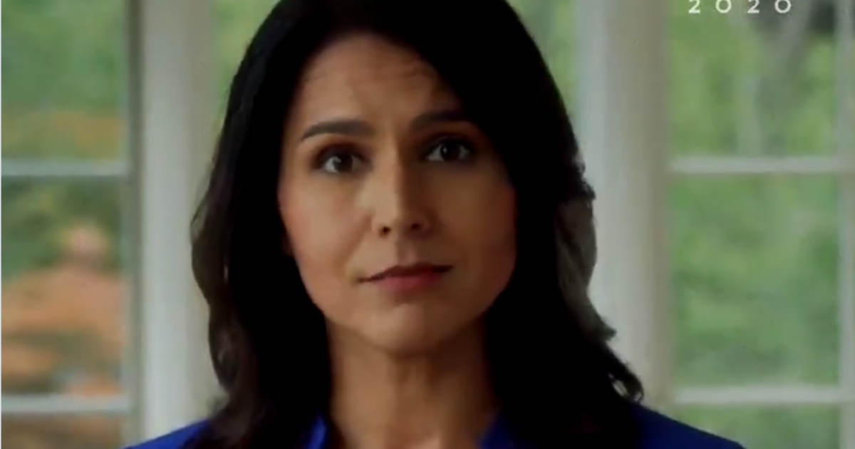 Tulsi Gabbard Releases Video Calling for Everyone Across the Political Spectrum to Unite and Fight Big Tech's Censorship