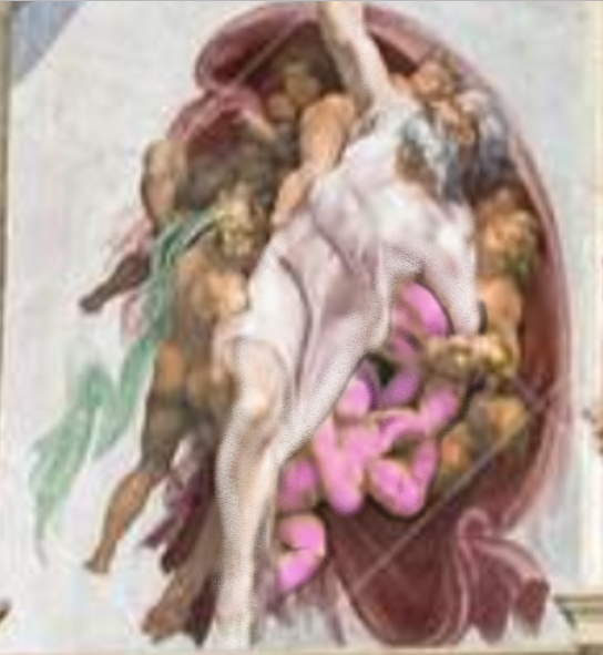 The Whore of Revelation Was Hidden Inside the Infamous 'Creation of Adam' by Michelangelo! (Video) – The Light in the dark place