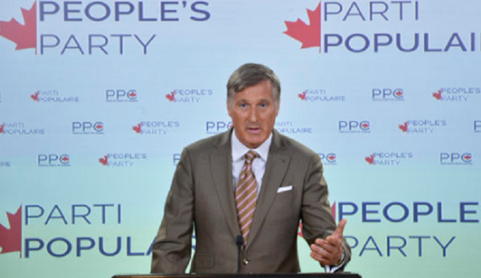 """Leader of new People's Party of Canada says his party is the only one willing to discuss the """"Islamist menace"""""""