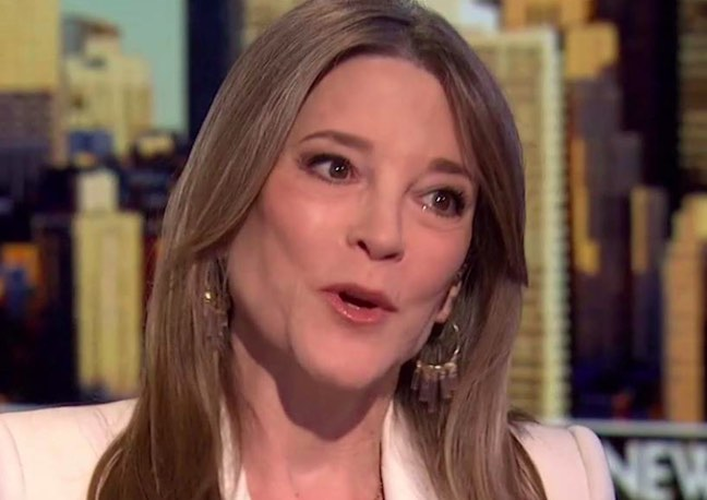 Space Cadet Marianne Williamson To Crack Down On Guns And Whiteness With 'Department Of Peace' – Def-Con News