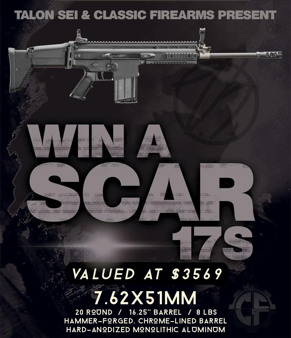 Contest - Win A FN SCAR 17S Rifle ($3569 Value!)