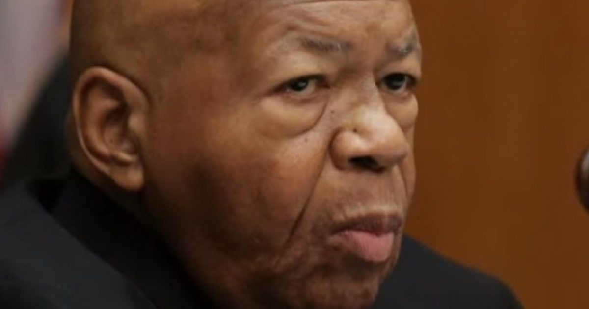 Elijah Cummings Completely Melting Down After Video Resurfaces And He's TOAST