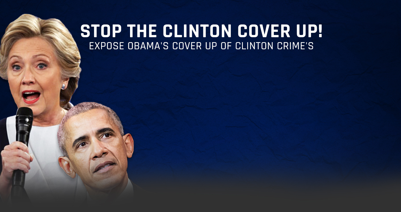 Stop The Clinton Cover Up | Judicial Watch