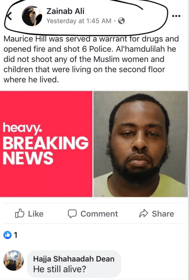 Man Who Shot 6 Philadelphia Officers Is A Muslim - Laura Loomer Official