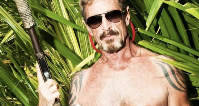 John McAfee Has Some Questions About This Weekend's Mass Shootings | Zero Hedge