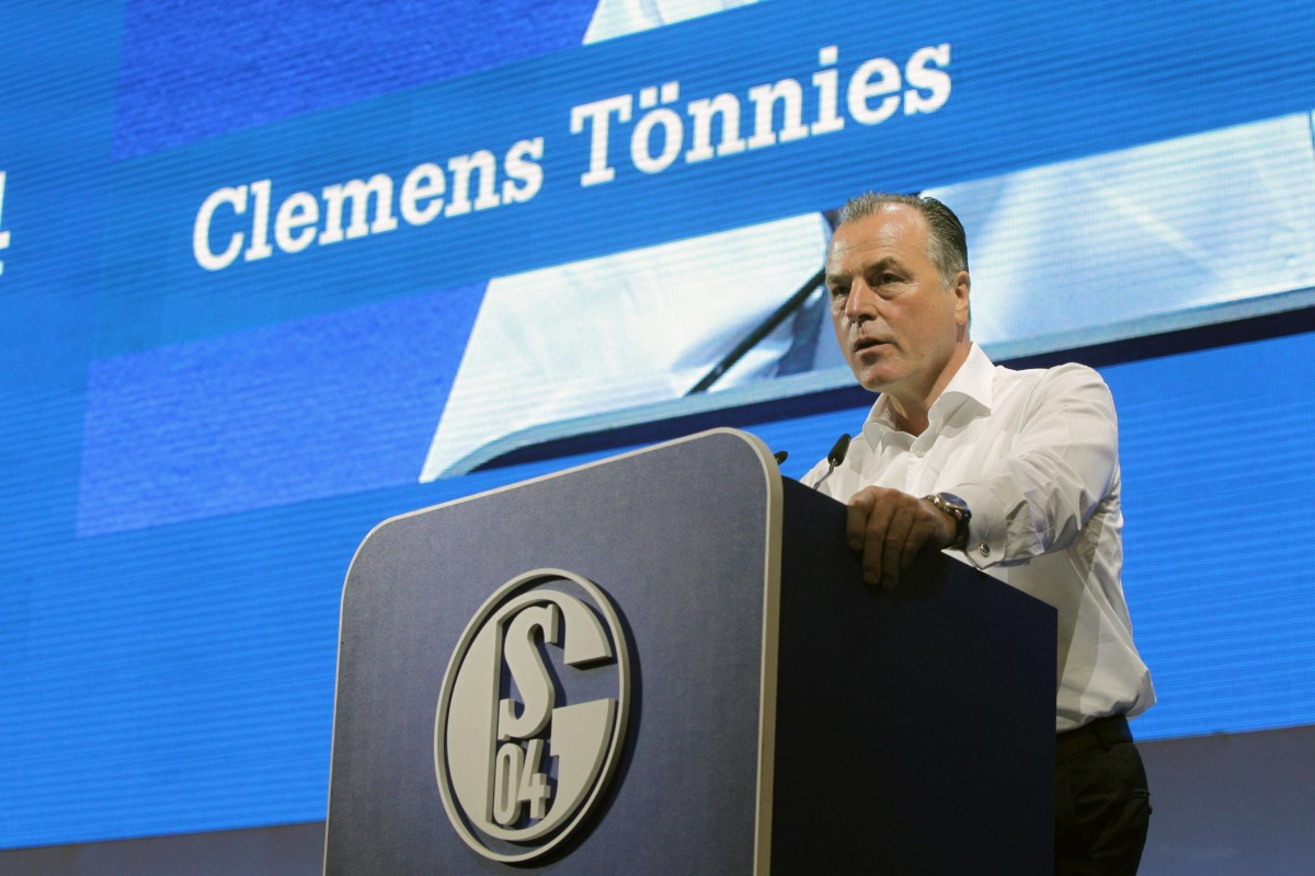 Schalke 04 : Tönnies: Es geht um die Wurst › Jouwatch