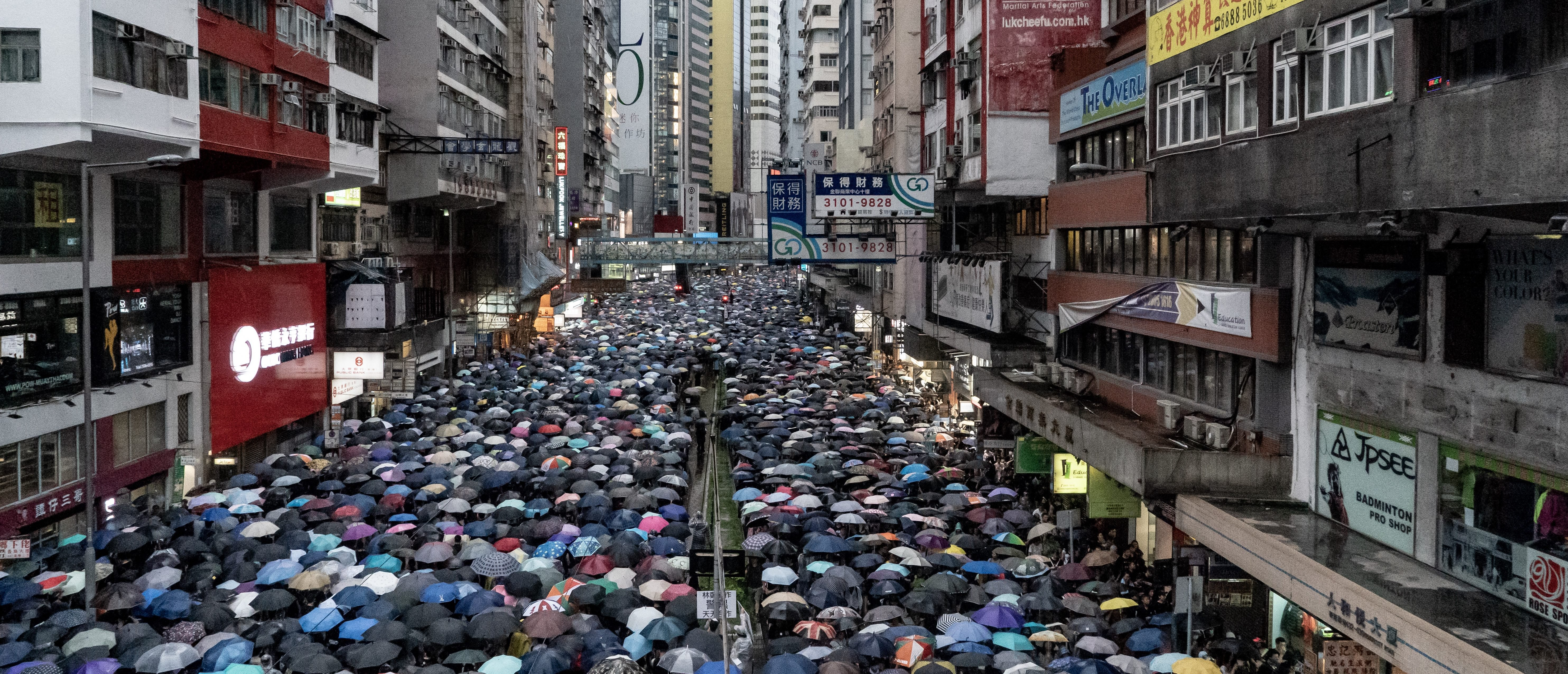 Hong Kong Demonstration Draws Crowd Of More Than 1.7 Million Against Government Orders | The Daily Caller